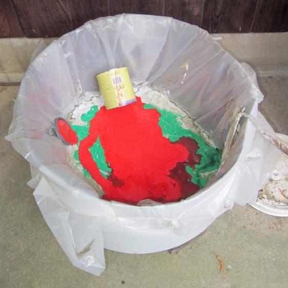 Paint drying tub