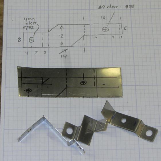 Motor RPM Sensor Brackets