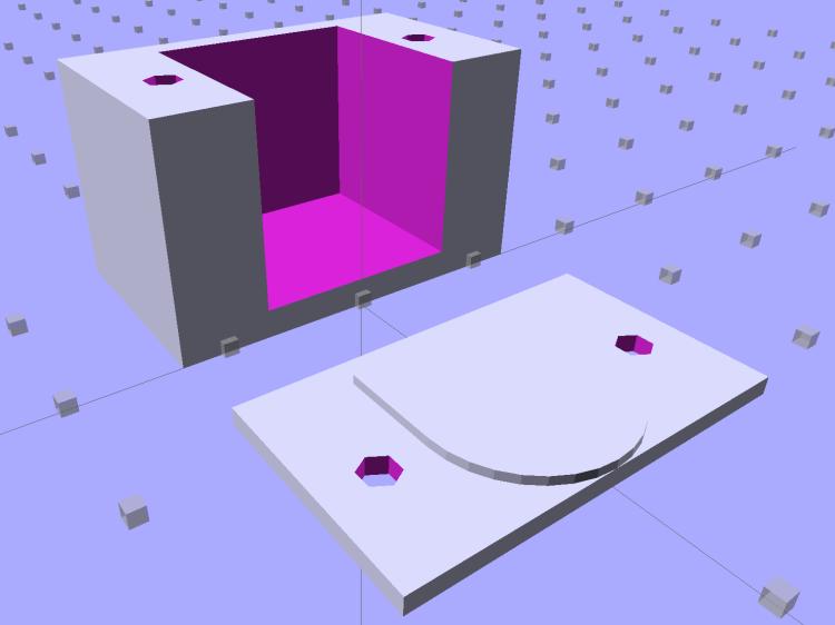 PS2 Socket Mount