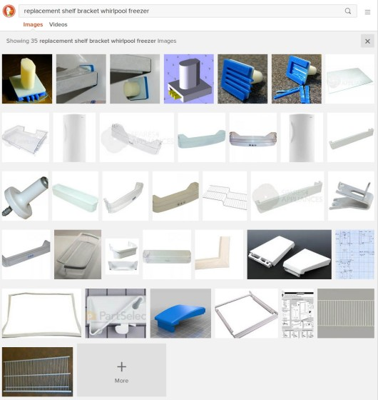 Search Engine Optimization - Freezer Shelf Bracket