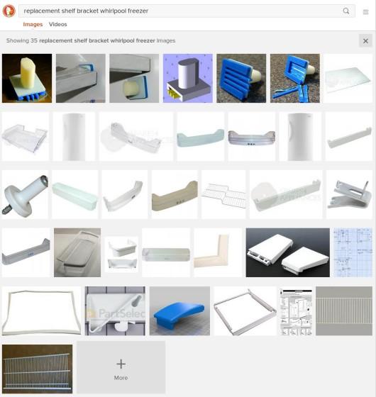 Search Engine Optimization - Freezer Shelf Bracket