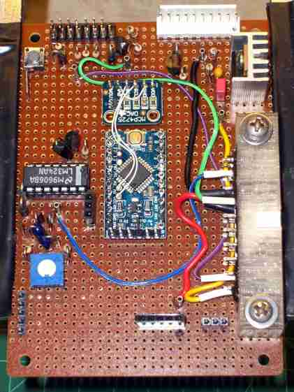 Low Voltage Interface Board - top view