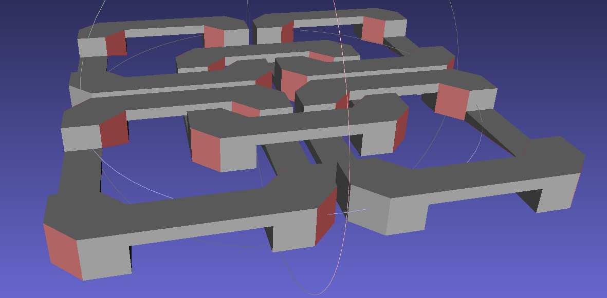OpenSCAD: Quantized Vertices   The Smell of Molten Projects