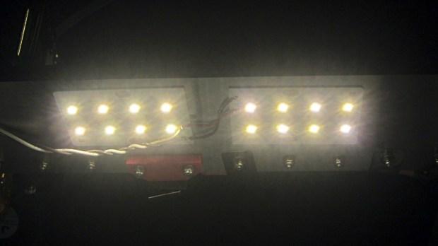 LED Panel - on M2 Gantry