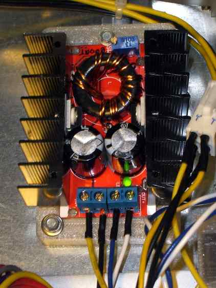 Boost converter - installed