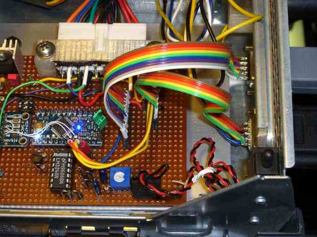 Kenmore 158 UI - cable at motor controller