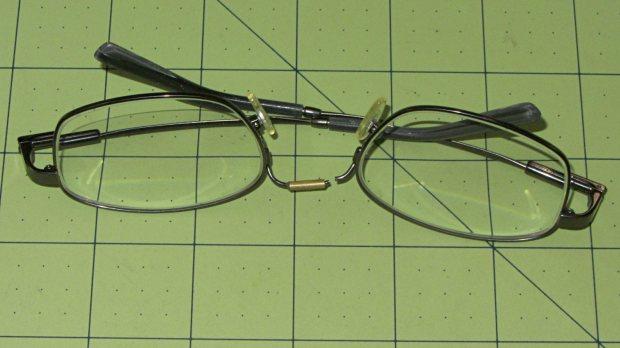 Eyeglasses - broken nose bridge wire