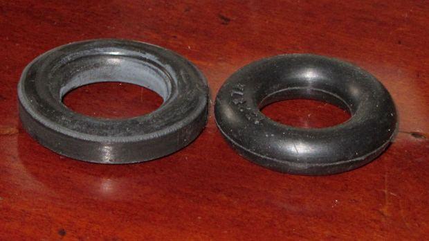 Bobbin Winder - old vs new tire
