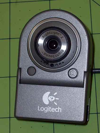 Logitech QuickCam for Notebook Plus - front