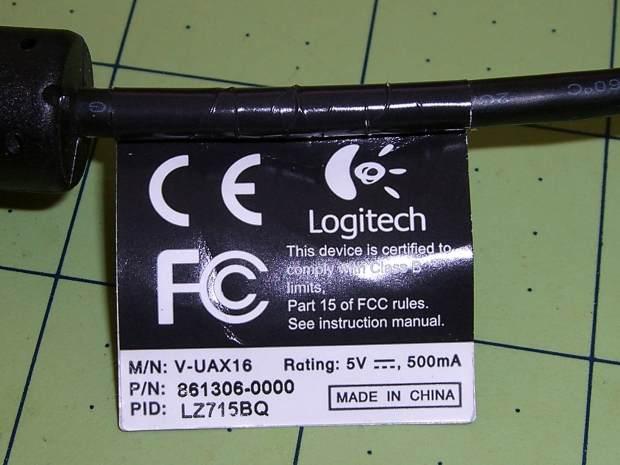 Logitech QuickCam Pro 5000 - tag