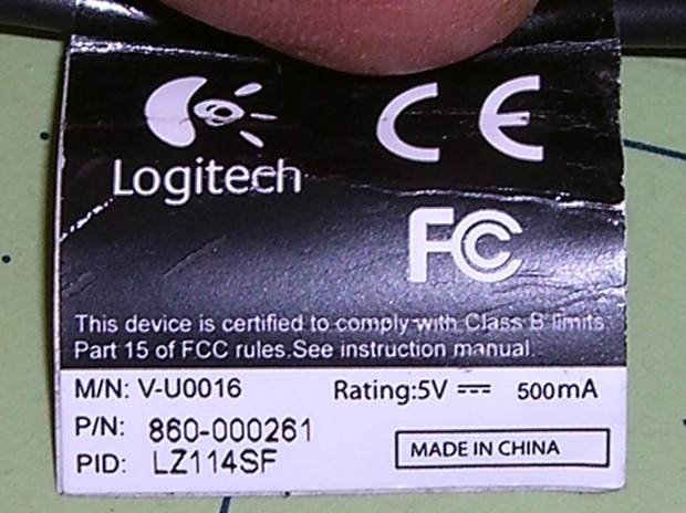 Logitech HD Webcam C510 - tag