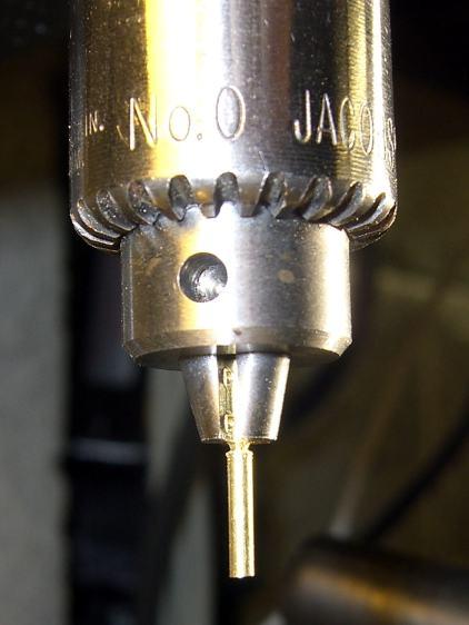 Silhouette temple repair - trimming tube