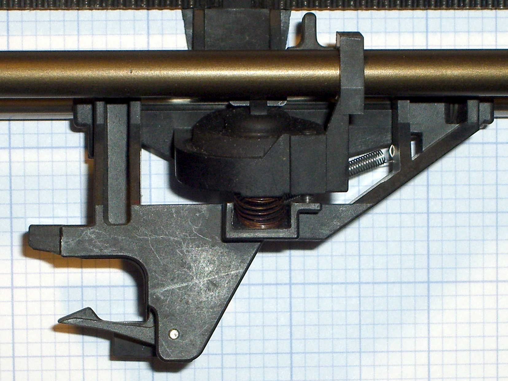 HP 7475A Plotter: Pen Holder Height Map Cap | The Smell of Molten