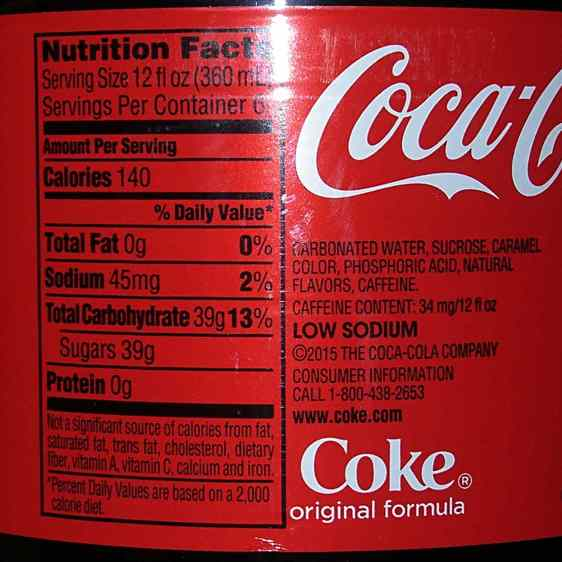 Yellow Coca Cola cap - Kosher ingredients