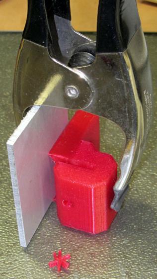 Tour Easy rear fender bracket - gluing