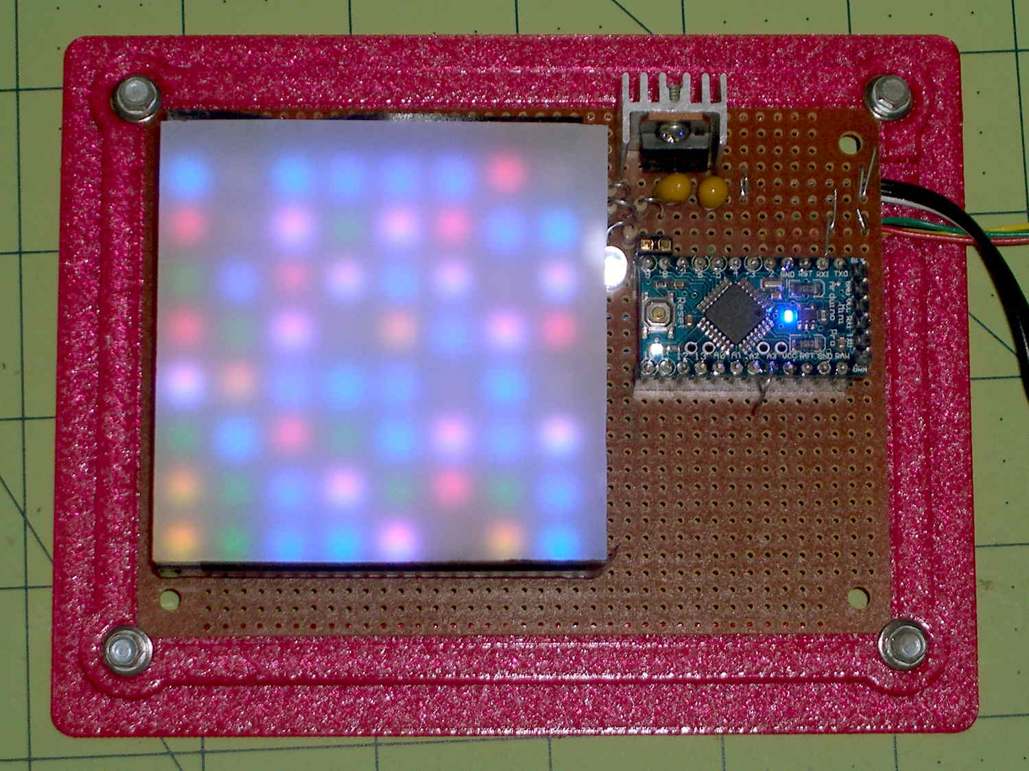 Random Led Dots Hardware Layout The Smell Of Molten Projects In Circuit And Board