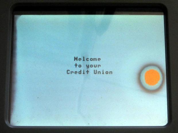 Credit Union signature pad - LCD screen rot