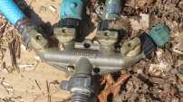 Garden hose manifold