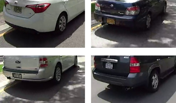 HDR-AS30V - license plates - 1280x720-60