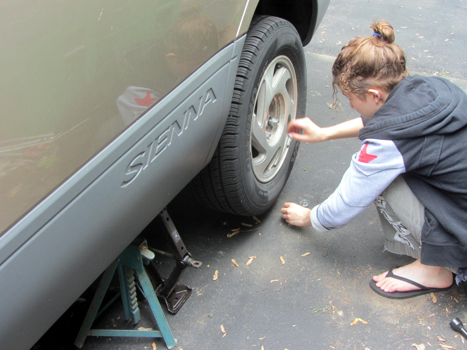 Sienna ABS failure - removing lug nuts