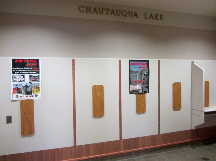Chautauqua Lake Rest Stop - Phone Room