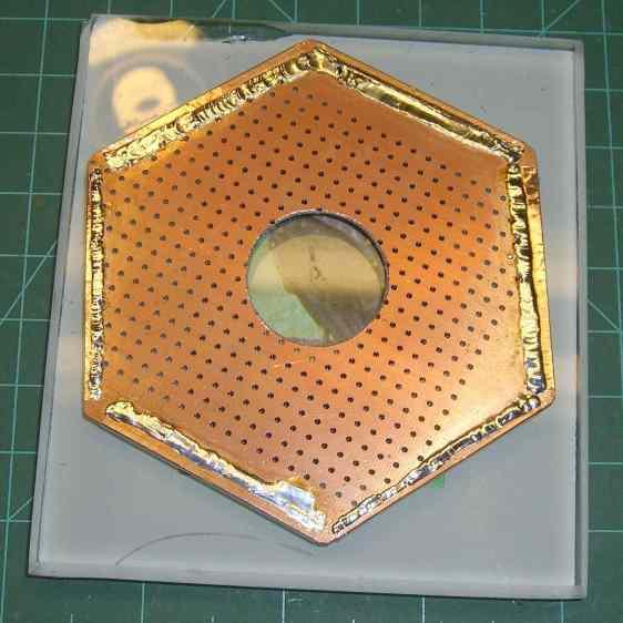 Victoreen 710-104 - Hex PCB - top