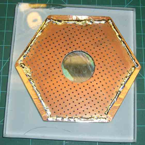 Victoreen 710-104 - Hex PCB - bottom