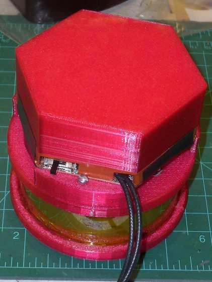 Electrometer amp - shield - exterior