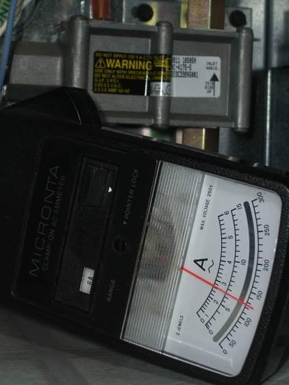 Kenmore range oven gas valve - weak igniter current