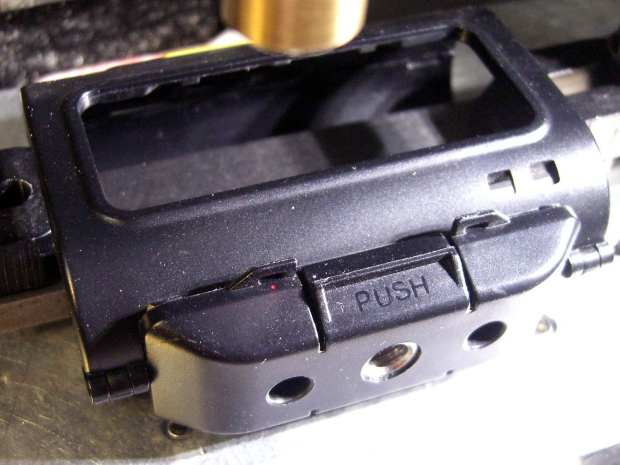 Sony HDR-AS30V Skeleton Mount - laser hole alignment