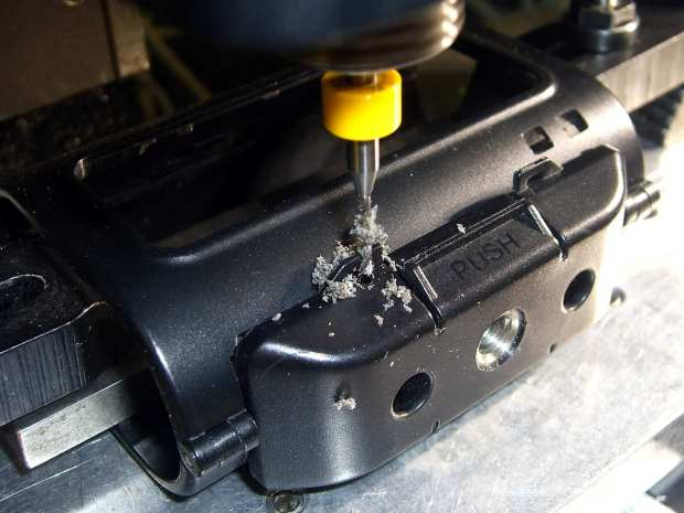 Sony HDR-AS30V Skeleton Mount - 0-80 hole drilling