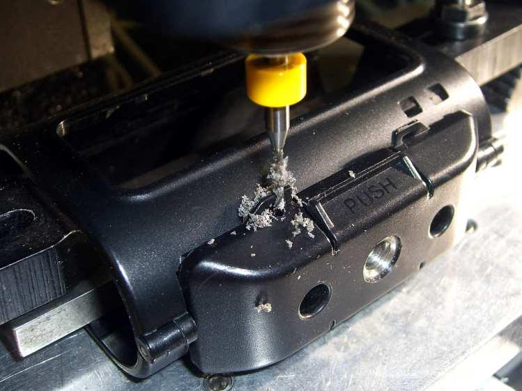 Sony HDR-AS30V Skeleton Mount - 0-80 hole drilling