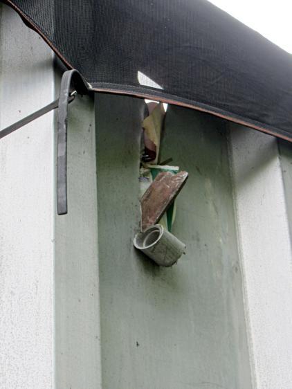 Metal scrap trailer - Cutting edge