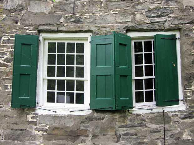Terwilliger House - parallelogram windows