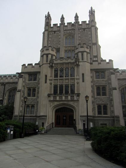 Vassar Library - front