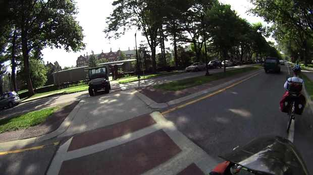 Raymond Avenue 2015-07-14 - Vassar Golf Cart - front