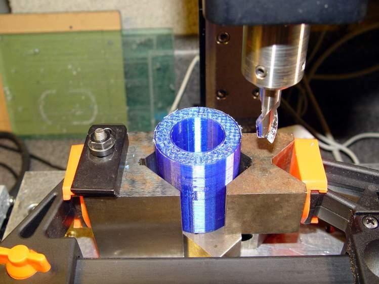 USB Camera Microscope Mount - adjusting tube length