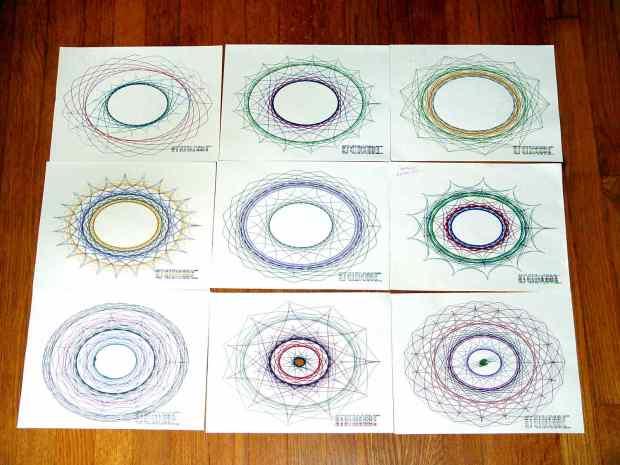 Superformula Plots - A-size paper