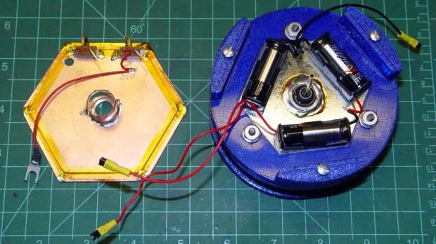 Electrometer amp - chamber - shield planes