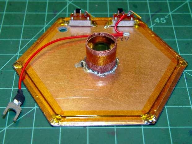 Electrometer amp - finished shield planes
