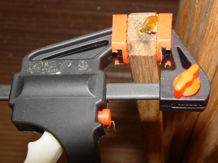 Drying Rack - strut gluing