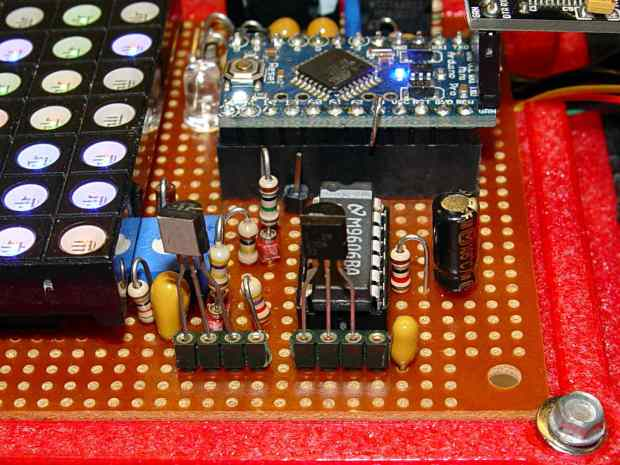 Reverse-bias noise amplifier - detail