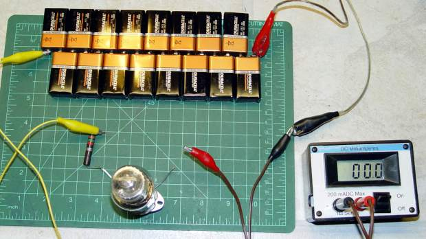 0D3 voltage regulator test setup