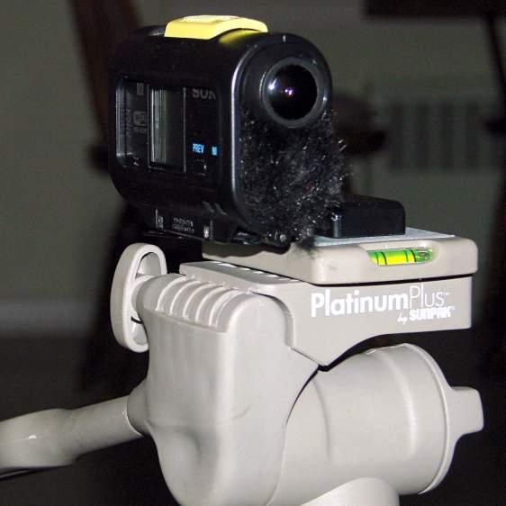 Sony HDR-AS30V - skeleton tripod mount