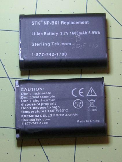 STK NP-BX1 batteries