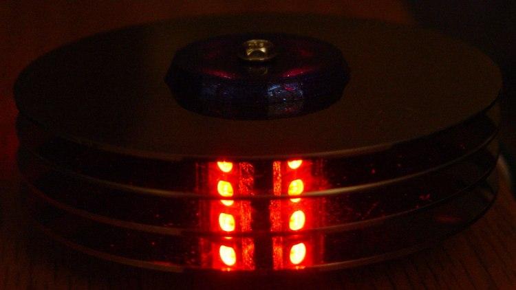 Hard Drive Mood Light - red