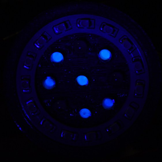Ring Light Mount - failed LEDs in UV