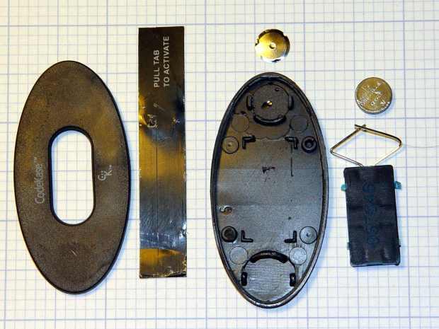 CodeKase device - parts