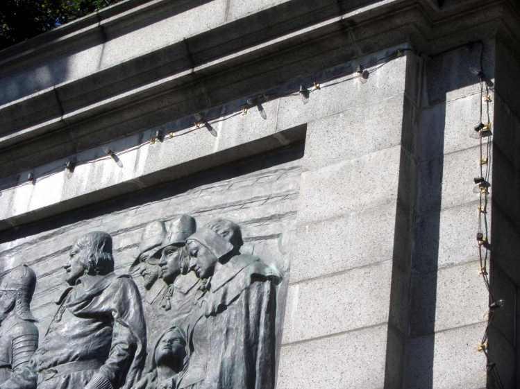 Provincetown Pilgrim Memorial - detail