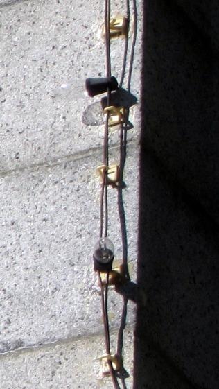 Provincetown Pilgrim Memorial - lamp detail